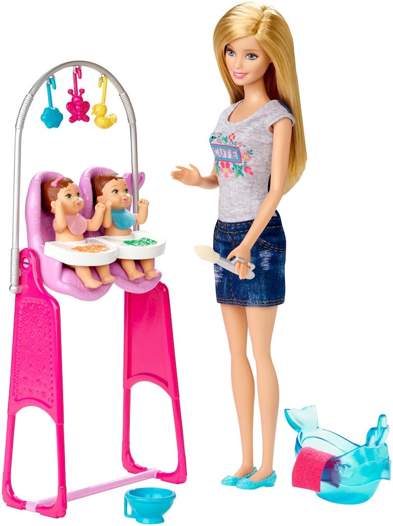 Barbie Careers Twin Babysitter