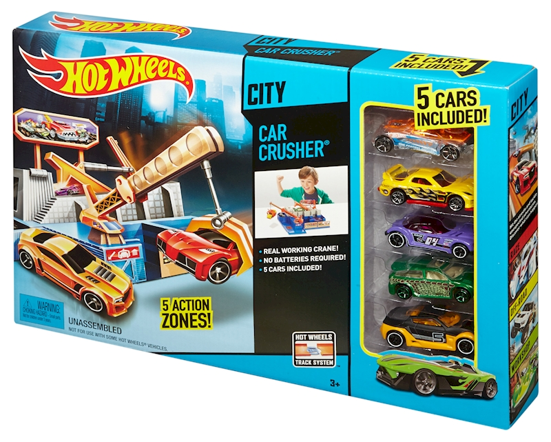 Hot Wheels Car Crusher Playset Shop Hot Wheels Cars Trucks Race