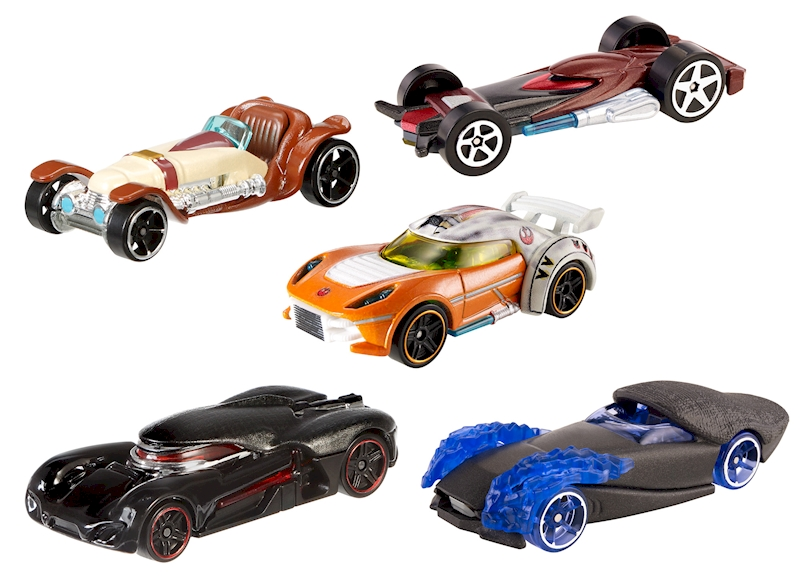 hot wheels star wars light side vs dark side 5 pack shop hot wheels cars trucks race. Black Bedroom Furniture Sets. Home Design Ideas