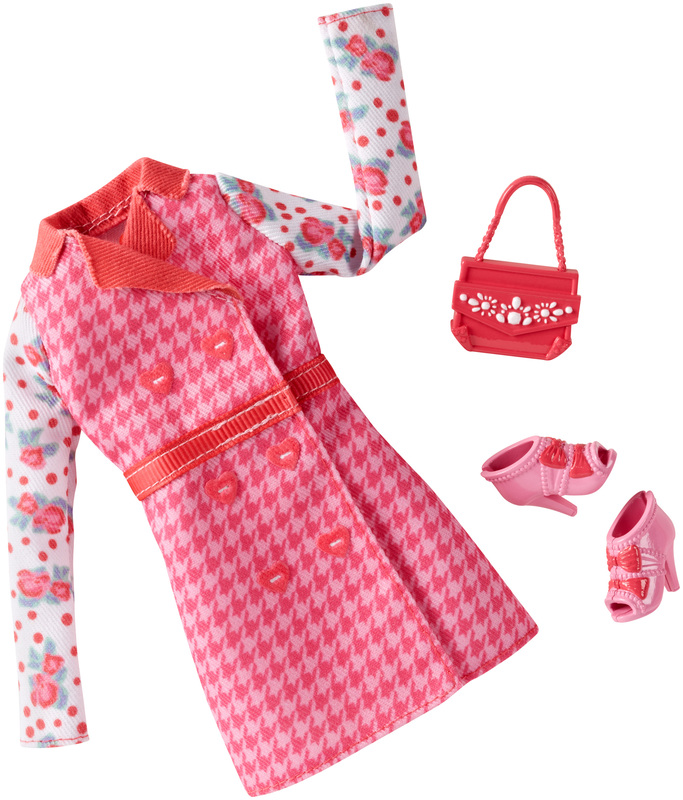 Barbie Complete Look Fashion Pack Dress and Purse New Mattel