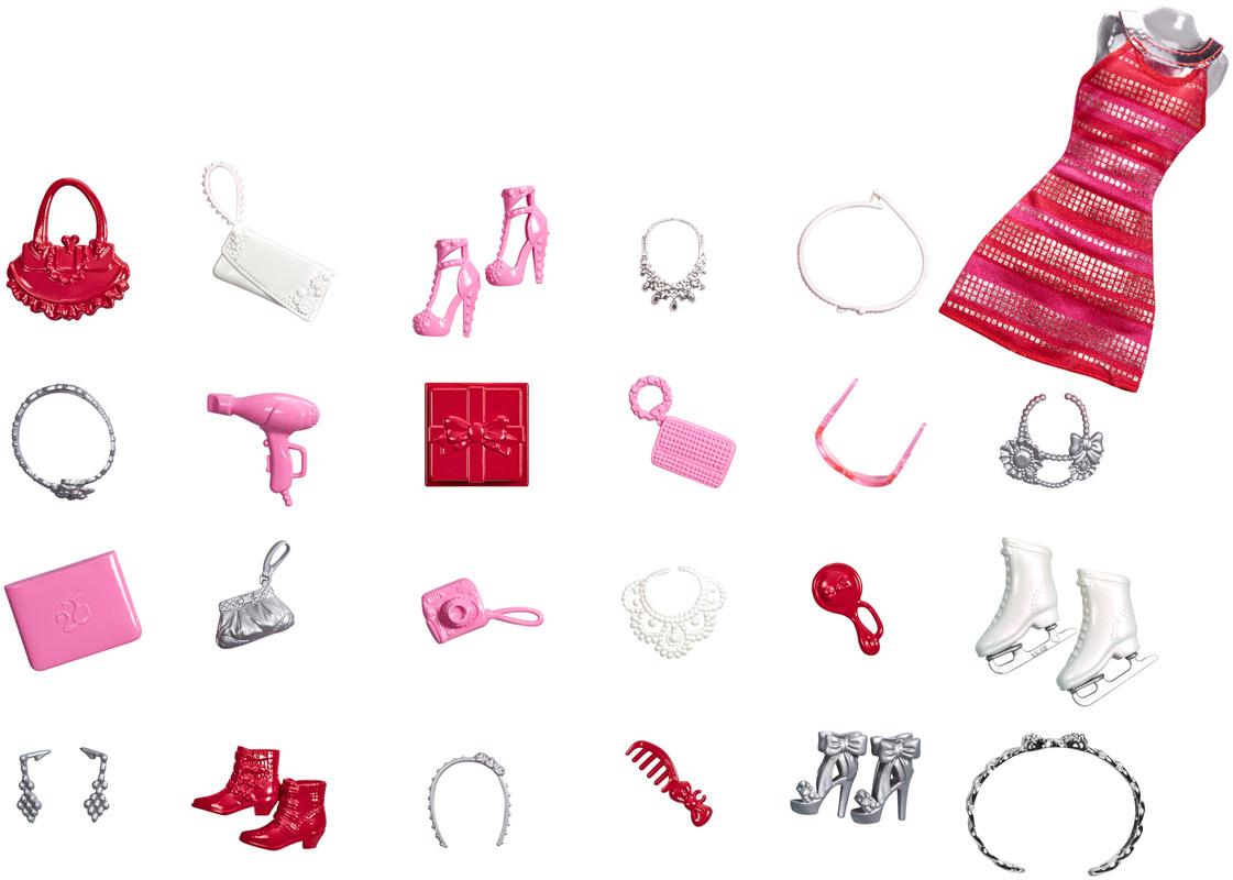 Calendrier Avent Barbie.Calendrier De L Avent