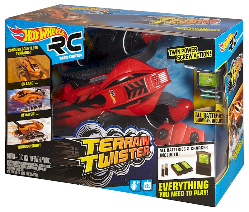 hot wheels rc terrain twister vehicle red shop hot. Black Bedroom Furniture Sets. Home Design Ideas