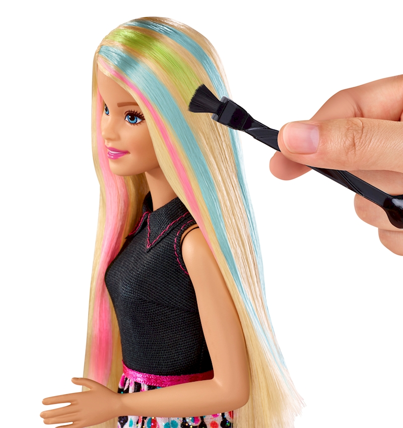 Barbie haarfarbe zauber