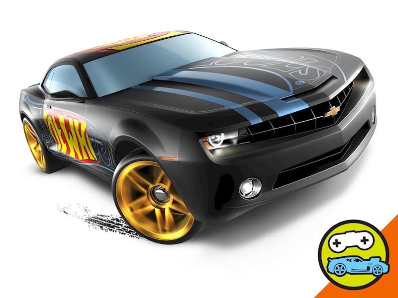 Chevy Camaro Concept Hot Wheels Cars Trucks Race Tracks