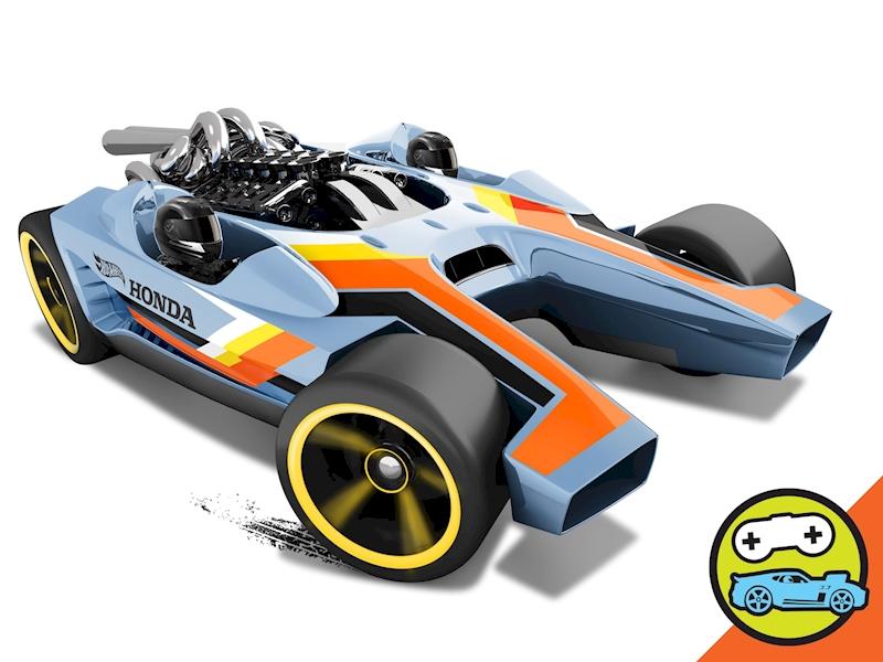 honda racer shop hot wheels cars trucks race tracks hot wheels. Black Bedroom Furniture Sets. Home Design Ideas