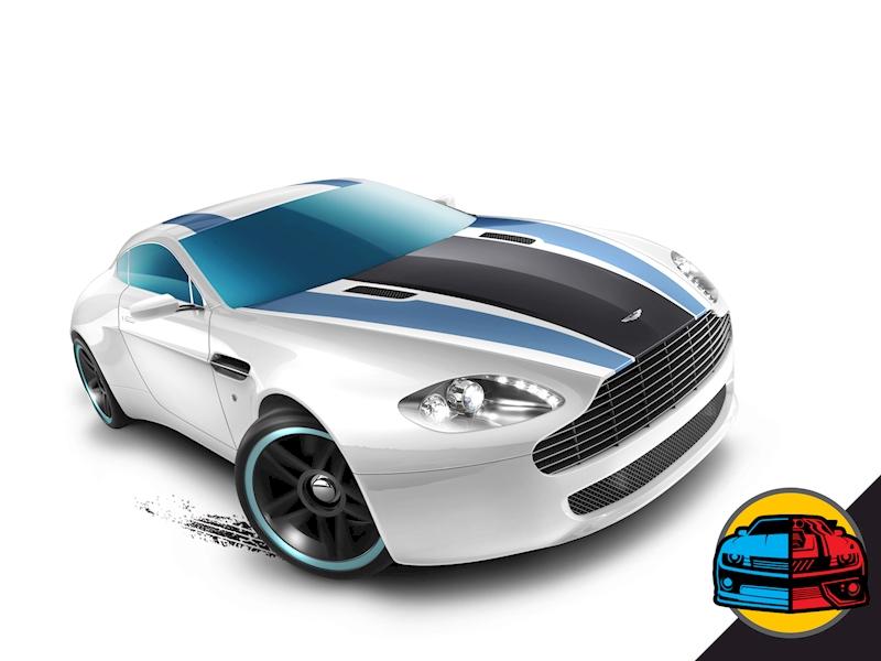 Aston Martin V8 Vantage - Shop Hot Wheels Cars, Trucks & Race Tracks ...