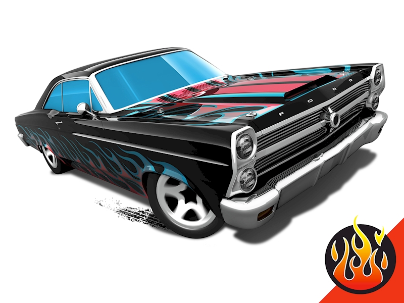66 ford 427 fairlane - shop hot wheels cars, trucks & race tracks