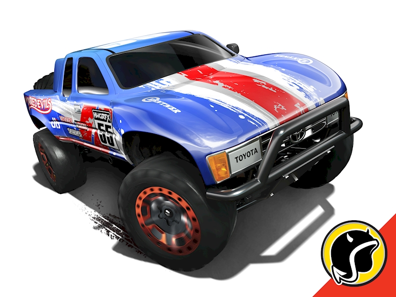 toyota off road truck shop hot wheels cars trucks. Black Bedroom Furniture Sets. Home Design Ideas