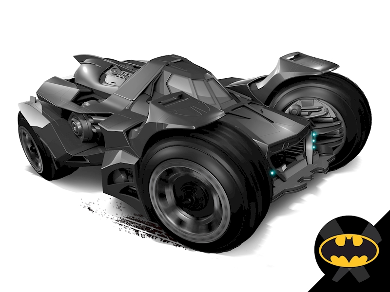 Batman™: Arkham Knight Batmobile - Shop Hot Wheels Cars ...