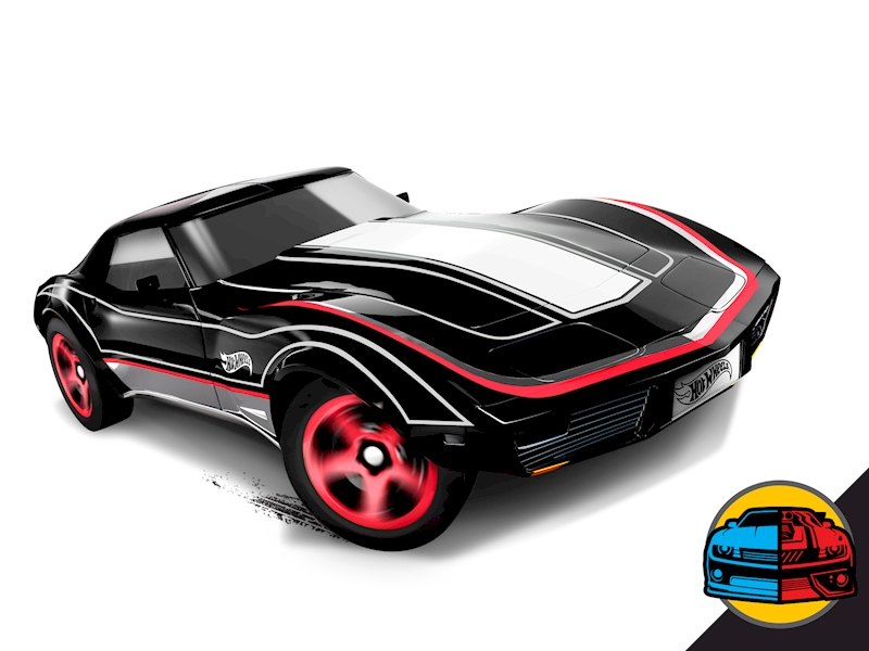 Corvette Stingray Top Speed >> Corvette® Stingray® - Shop Hot Wheels Cars, Trucks & Race Tracks | Hot Wheels