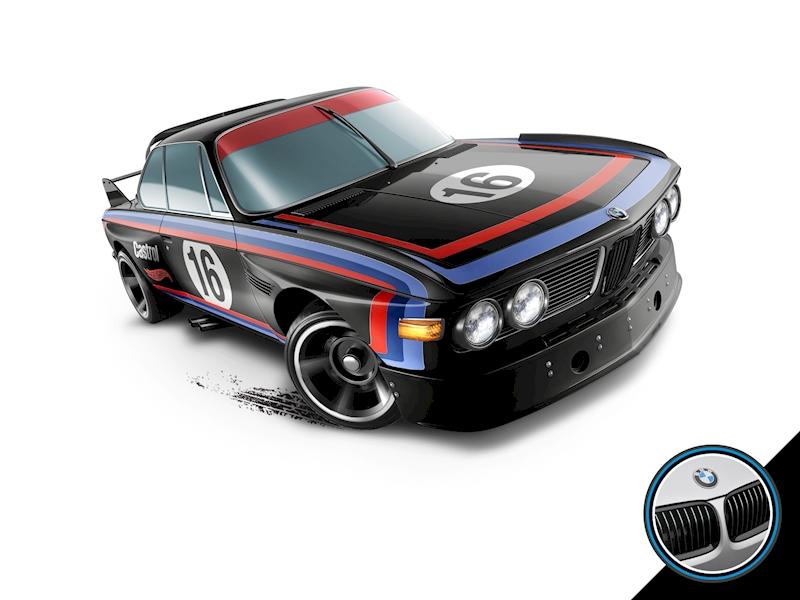 73 Bmw 3 0 Csl Race Car Hot Wheel Go4carz Com