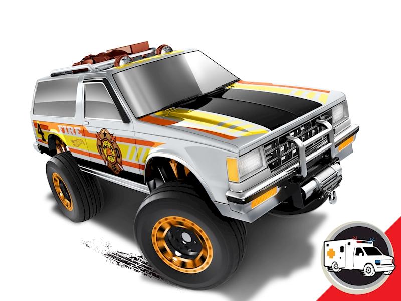 Chevy® Blazer 4x4 - Shop Hot Wheels Cars, Trucks & Race Tracks | Hot ...