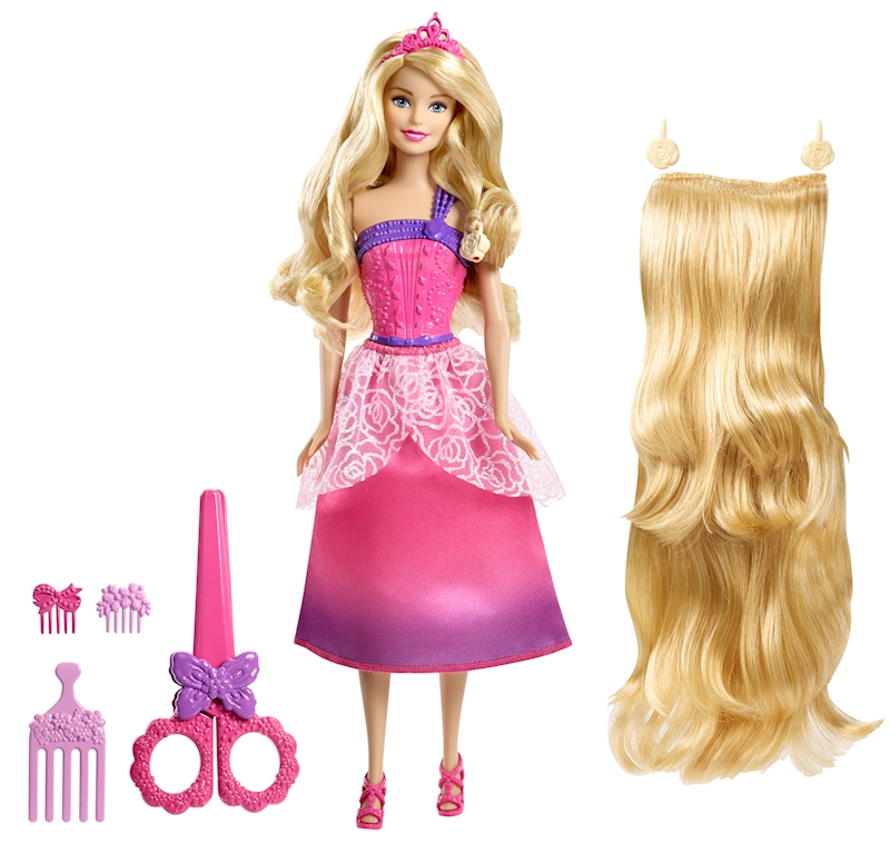 Barbie Endless Hair Kingdom Longest Locks Doll Pink