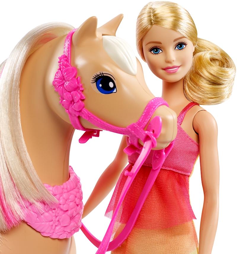 Barbie /& Her Sisters Dancin Fun Horse and Doll