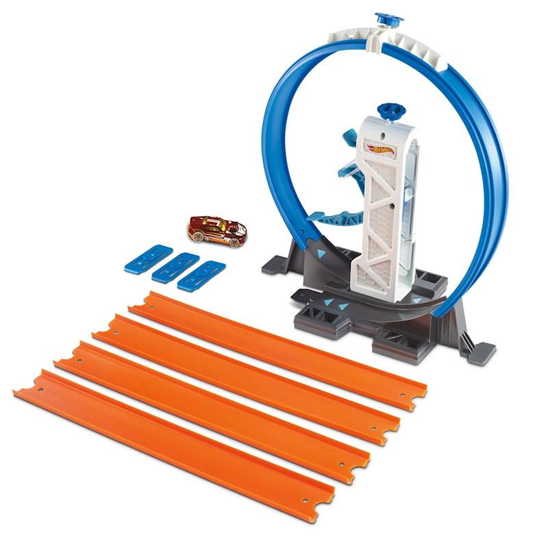 hot wheels track builder loop kicker shop hot wheels. Black Bedroom Furniture Sets. Home Design Ideas