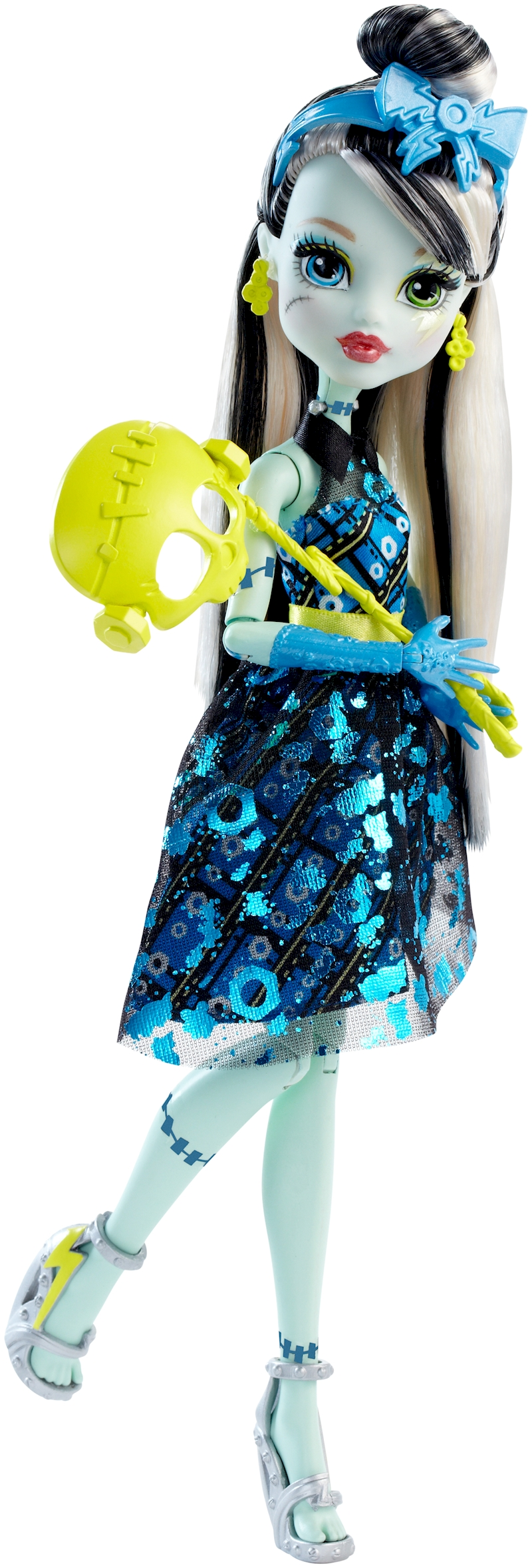 MONSTER HIGH® WELCOME TO MONSTER HIGH FRANKIE STEIN® DOLL ...