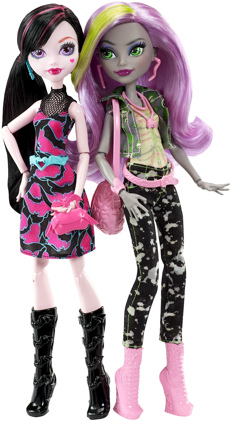 MONSTER HIGH® WELCOME TO MONSTER HIGH MONSTROUS RIVALS™ 2 ...