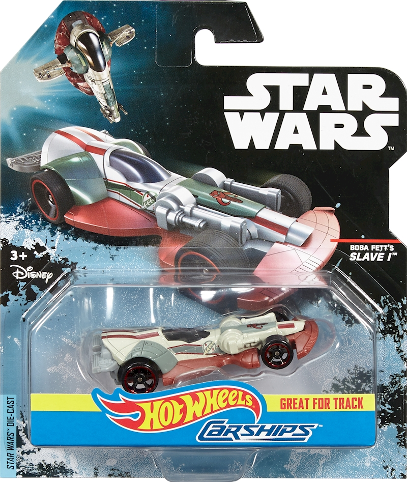 hot wheels star wars bobba fett 39 s slave 1 shop hot wheels cars trucks race tracks hot. Black Bedroom Furniture Sets. Home Design Ideas