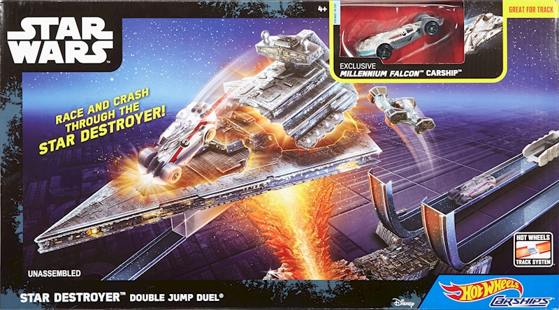 Hot Wheels Star Wars Star Destroyer Double Jump Duel