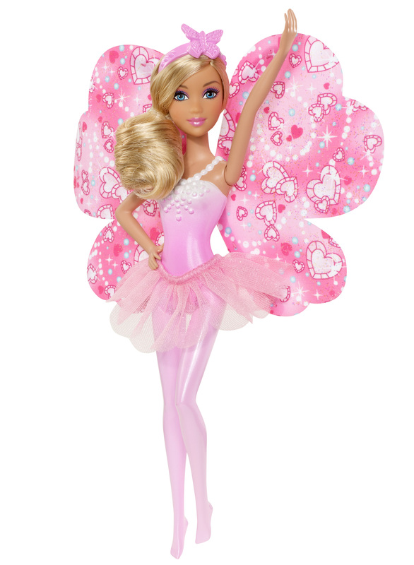 21b0fe46980c Barbie Fairytale Magic Blonde Fairy Doll