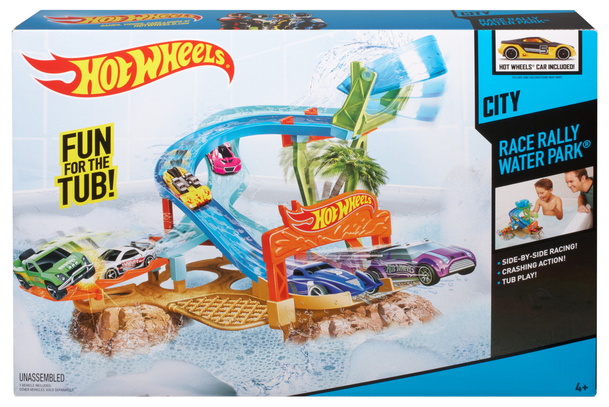 Hot Wheels 174 Race Rally Water Park Play Set Shop Hot