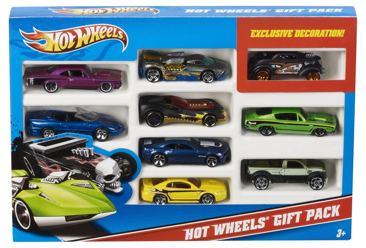 Hot Wheels® 9 Car Gift Pack - Shop Hot Wheels Cars, Trucks & Race ...