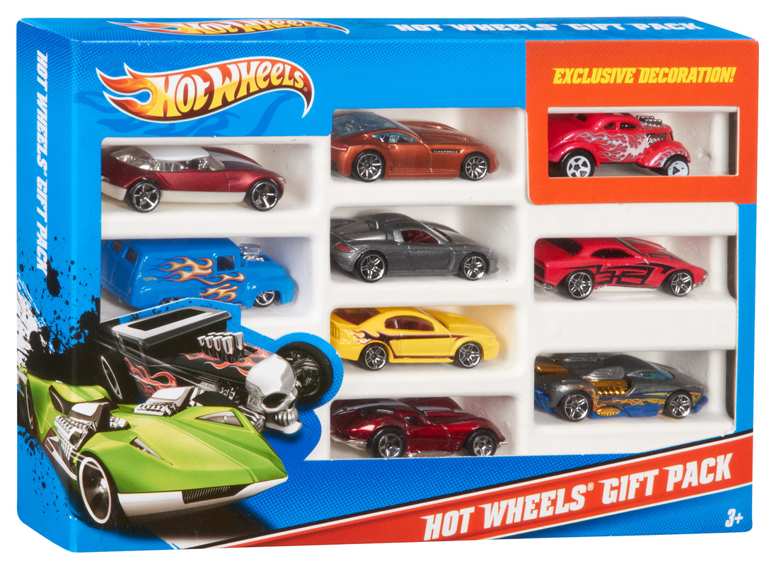 hot wheels 9 car gift pack shop hot wheels cars trucks race tracks hot wheels