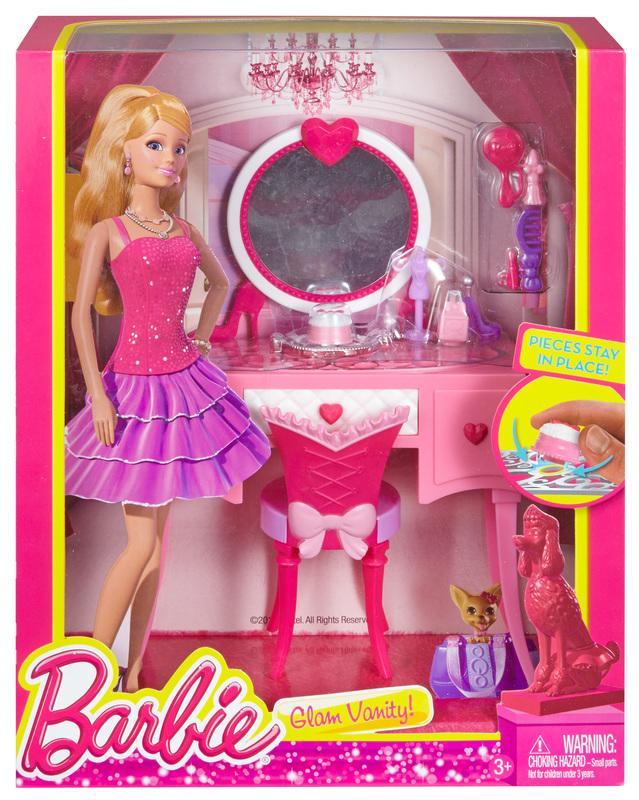 Barbie 174 Glam Vanity