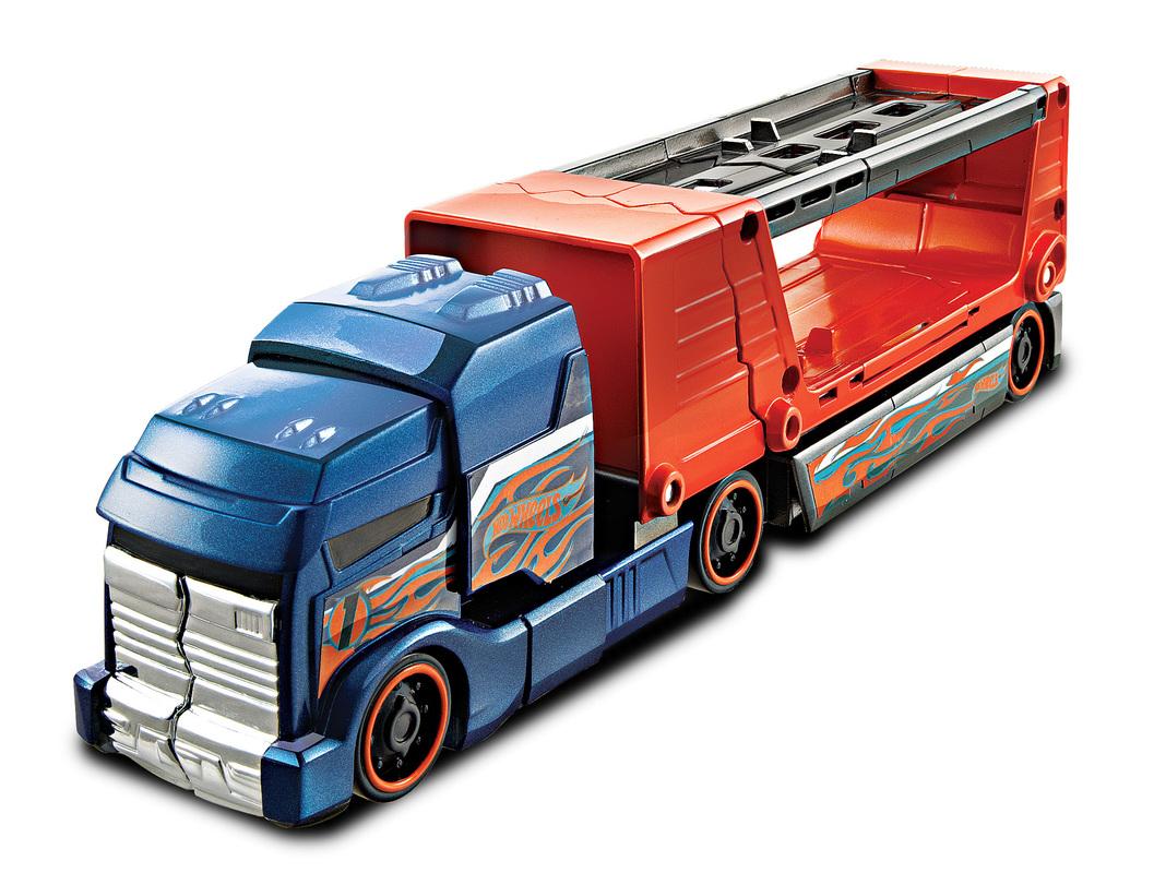 Hot Wheels Crashin' Big Rig- Shop Hot Wheels Cars, Trucks ...