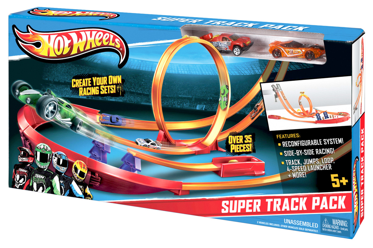 Hot Wheels Super Track Pack Shop Hot Wheels Cars Trucks Race