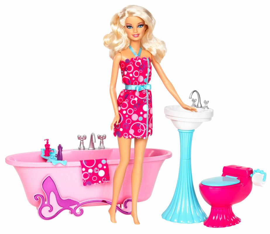 Barbie 174 Glam Bathroom